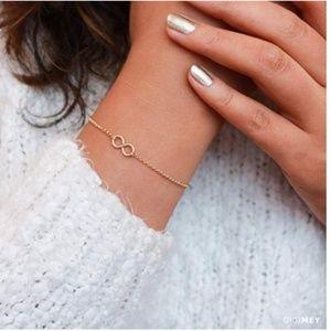 Jewelry - Infinity Gold Bracelet